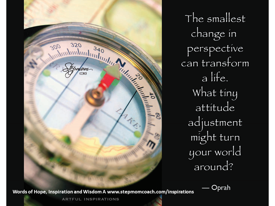 compass with Oprah Quote